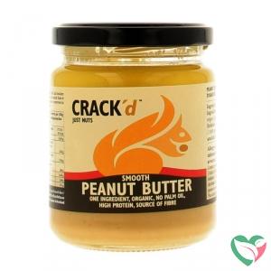 Crack'd Pindakaas organic bio