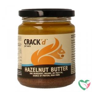 Crack'd Hazelnootpasta organic bio