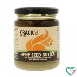 Crack'd Hennepzaadpasta organic bio