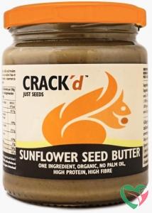 Crack'd Zonnebloempasta organic bio