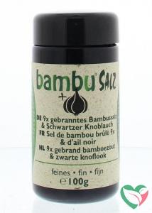 Bambu Salz Bamboezout knoflook