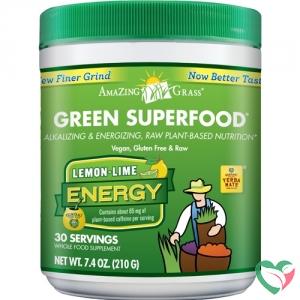 Amazing Grass Green superfood energy lemon & lime