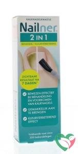 Nailner 2 in 1 brush