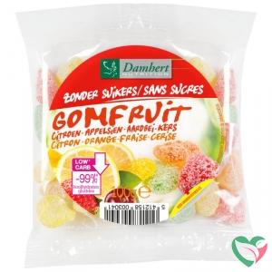Damhert Extra gomfruit snoepje