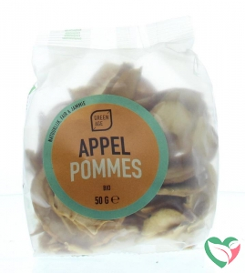 Greenage Appel chips