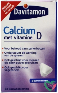 Davitamon Calcium & D mint