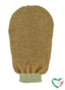 Forsters Massage handschoen tweezijdig linnen / katoen