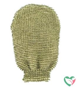 Forsters Massage handschoen grof linnen / katoen