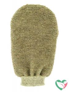 Forsters Massage handschoen tweezijdig linnen / badstof