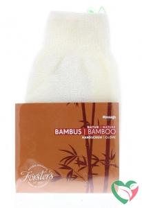 Forsters Wellness handschoen bamboe
