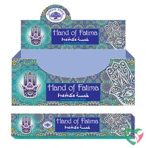 Green Tree Wierook hand of Fatima