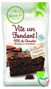 Bisson Chocolade cakemix bio