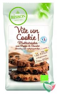 Bisson Multigranen koekjes mix bio