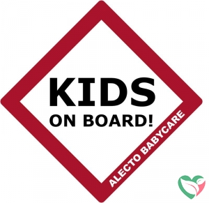 Alecto BV-16 Kids on board bordje