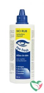 Eyefresh No rub alles in 1 vloeistof voor zachte lenzen