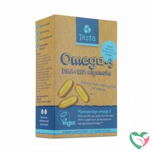 Testa Omega 3 algenolie 250mg DHA + 125mg EPA vegan