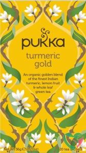 Pukka Org. Teas Turmeric gold