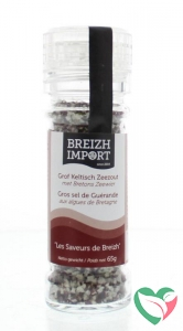 Breizh Import Grof keltisch zeezout zeewier gedroogd strooimolen