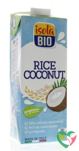 Isola Bio Rijstdrank kokosnoot bio