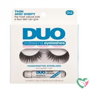 DUO Kunstwimpers professional eyelash kit 12