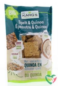 Dr Karg Spelt en quinoa snack