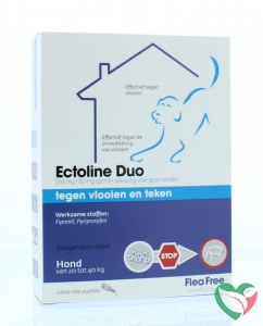 Flea Free Ectoline duo hond 20-40 kg pipet