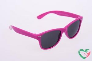 Haga Eyewear Zonnebril kind 5-10 jaar wayfarer roze