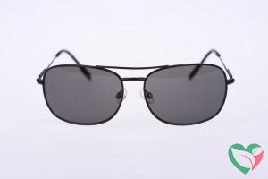 Haga Eyewear Zonnebril zwart metaal