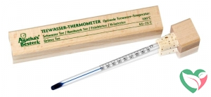 Agatha S bester Theewater thermometer houten doos