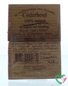 Beautylin Cederhout ladenblok 100% natuurlijk