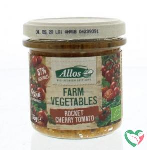 Allos Farm vegetables rucola & kerstomaat bio