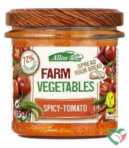 Allos Farm vegetables pittige tomaat bio
