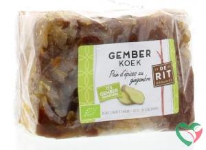De Rit Kruidige gemberkoek bio