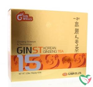 Ilhwa Ginst15 Korean ginseng tea
