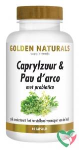 Golden Naturals Caprylzuur & pau d arco formula