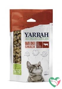 Yarrah Mini snack voor katten bio