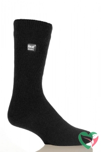 Heat Holders Mens sock ultra lite 6-11 black