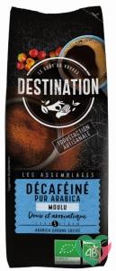 Destination Koffie decaf puur arabica gemalen bio
