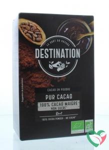 Destination Cacao 100% mager 10-12% bio