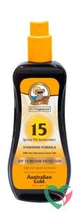 Australian Gold Spray oil SPF15