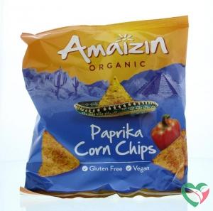 Amaizin Corn chips paprika bio