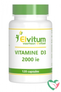 Elvitaal Vitamine D3 2000 IE 50 mcg