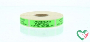 Brocacef Strooketiket pijnstiller lang/cont werkend groen