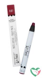 Beauty Made Easy Lipstick matte ruby